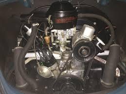 volkswagen beetle engine 1966 model year changes