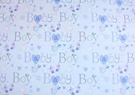 baby boy wrapping paper simon elvin baby boy wrapping paper 2 sheets of gift wrap one