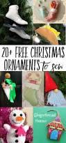 20 cute felt christmas ornaments to sew swoodson says