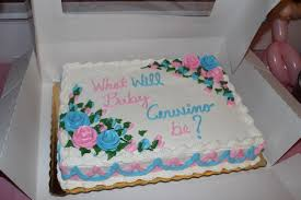 publix gender reveal cake cake ideas