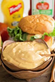 the best burger sauce ever julie u0027s eats u0026 treats