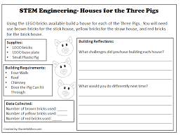what do you need to build a house stem engineering houses for the three pigs with lego