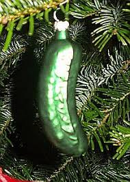 is the pickle a german tradition world german