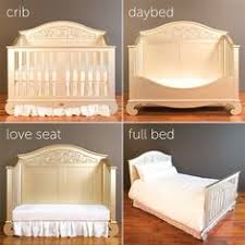 Crib Converts To Bed Chelsea Lifetime Crib In White Converted To Size Bed