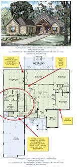 house plans with big bedrooms house plan 82229 breakfast bars open floor and garage storage