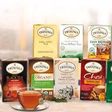 3 free sles of twinings tea allyou