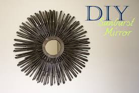 decorating dark grey diy sunburst silver starburst mirror wall