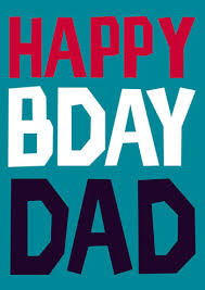 happy bday dad funny birthday card