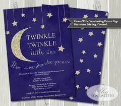 twinkle twinkle baby shower invitations twinkle twinkle baby shower invitation socialites