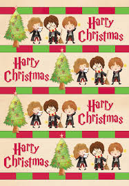 cool christmas wrapping paper harry potter christmas wrapping paper harry potter