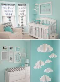 pretty blue x gray chevron nursery room design praise wedding