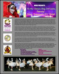 new orleans thanksgiving parade epresskit for the new orleans baby doll ladies featuring dj hektik