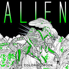 titan books alien coloring book titan books