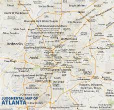 Portland Metro Area Zip Code Map by Judgmental Maps Atlanta Ga By An Honest Atlantan Copr 2015 An