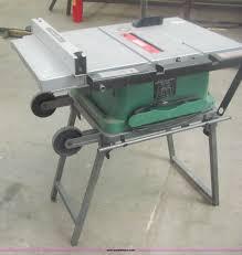 hitachi table saw price hitachi c10fr portable table saw item 7024 sold april 2