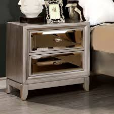 bedroom sidebed table ideas by silver nightstand ideas for