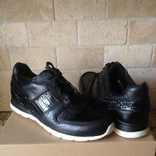 ugg womens tennis shoes ugg deaven croco size 12 s us m black ebay
