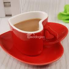 heart shaped mugs amazing ceramic heart shape coffee tea cup beddinginn