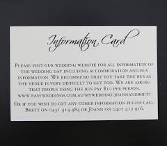 black and ivory wedding invitations information card for square pocket wedding invitations