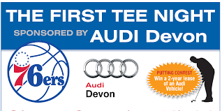 first audi logo the first tee night presented by audi devon recap the first tee