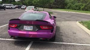 purple porsche 911 turbo porsche 911 turbo s and purple viper gt walk around youtube