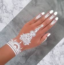 19 stunning white henna designs for you white henna henna