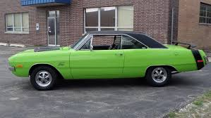 lime green dodge dart 1972 dodge dart 360 sub lime green clean driver see