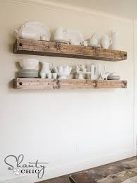 Floating Wood Shelf Plans by Diy Floating Shelf Plans For The Dining Room Shanty 2 Chic