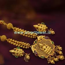 traditional design snl7022 one gram gold plated temple jewellery gundla mala