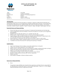 Sales Coordinator Job Description Resume by Logistic Coordinator Resume Sample Free Resume Example And