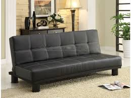 Futon Or Sleeper Sofa Collin Adjustable Sofa Bed Futon Sleeper In Black Finish 5290