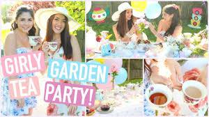 girly garden tea party diy treats decor essentials u0026
