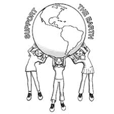 15 free printable earth coloring pages