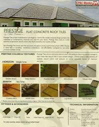 Flat Concrete Roof Tile Flat Concrete Roof Tiles