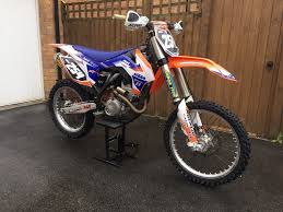 ktm 250 sxf 2013 40 hours mint condition no kxf crf yzf rmf 350