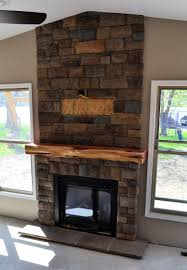 view stone fireplace mantels decorating ideas contemporary classy