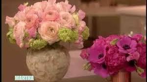 Robbins Flowers - video pink flower arrangements with matthew robbins martha