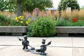 Botanical Gardens Volunteer by Volunteer In The Gelvin Garden Krannert Art Museum