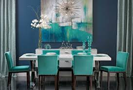 Teal Dining Table Turquoise Gem Dining Table Dining Room Houston By