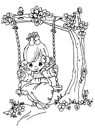 10 images precious moments anniversary coloring pages