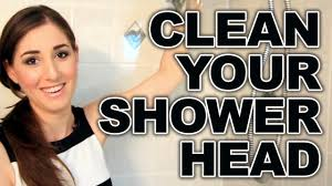 how to clean your shower head easy bathroom cleaning ideas clean