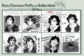Sherlock Holmes Memes - sherlock style meme by sadyna on deviantart