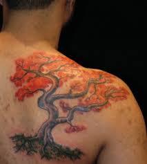 stunning maple tree leaves tattoomagz