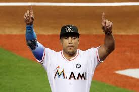 giancarlo stanton marlins jpg the best man won giancarlo stanton voted 2017 nl most valuable
