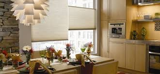 Modern Blinds For Living Room Style Finder Cellular Shades In A Modern Kitchen The Finishing