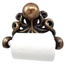 Iron Giant Bathroom Atlantic Collectibles Giant Ocean Kraken Cthulhu Octopus Toilet