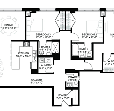 Supermarket Floor Plan by Luxury Condos Lincoln Park Webster Square Condos