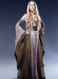 Games Thrones Halloween Costumes Game Thrones Cosplay Cersei Lannister Dress Halloween Costumes