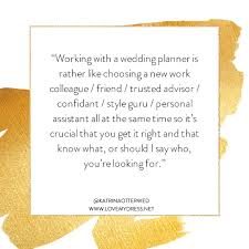 Marriage Planner Excellent Advice On Choosing A Wedding Planner And Why I Might