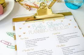 bridal shower planner free printable baby shower planning checklist money saving